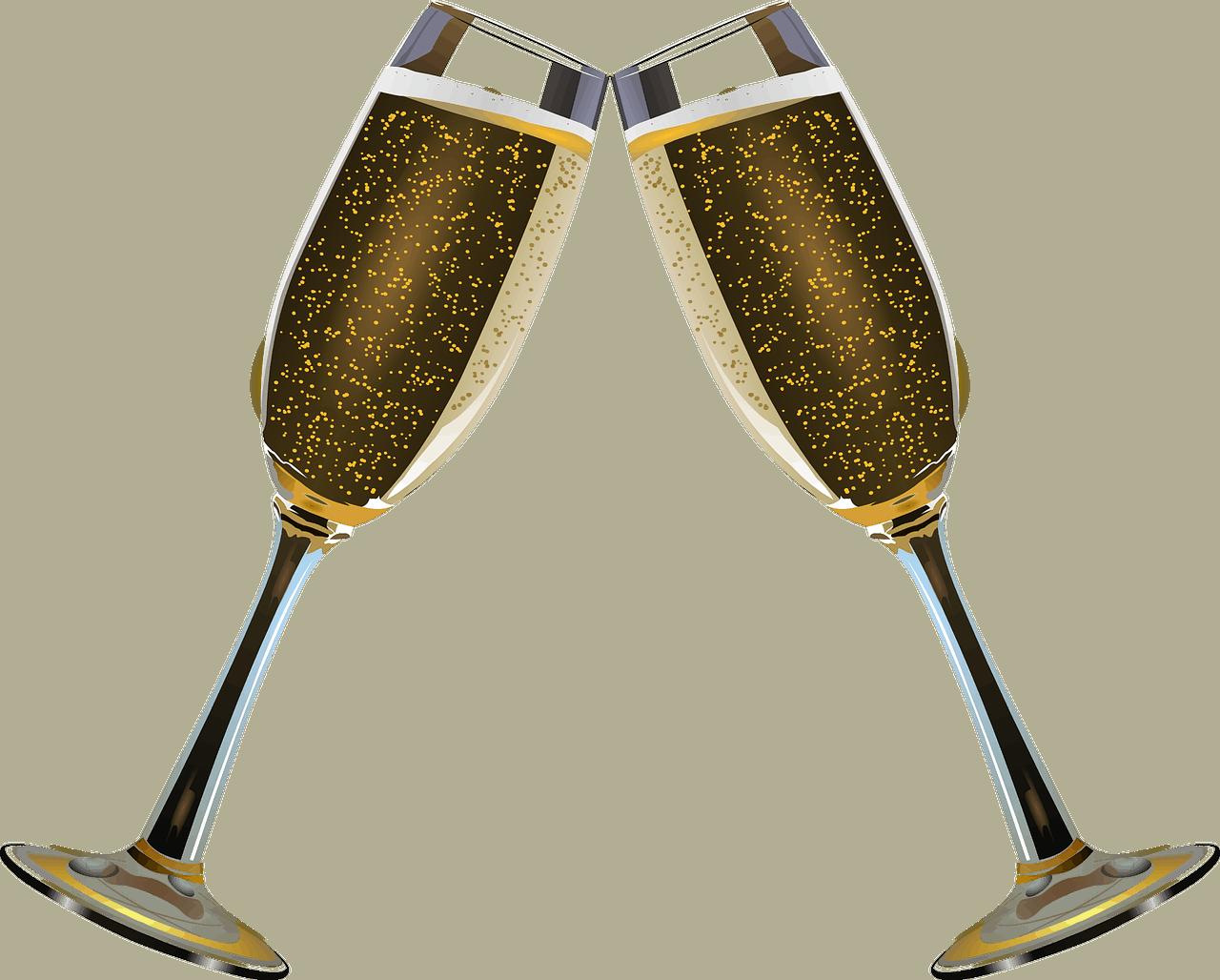 כוסות שמפניה