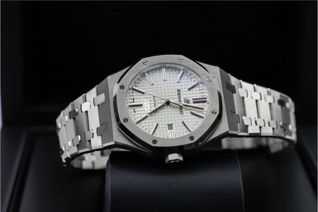 שעון מכסף טהור