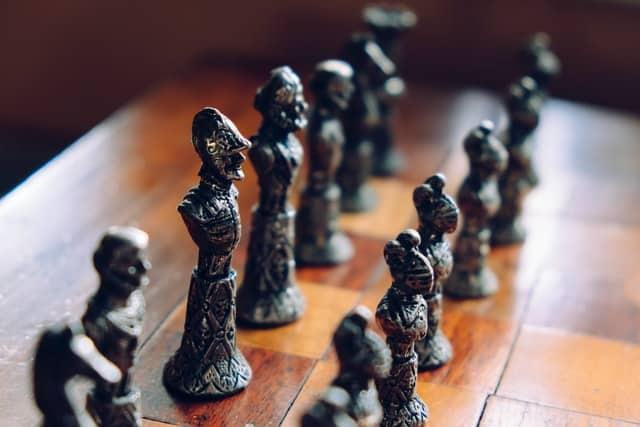 מהלכים משחמט - תמונה להמחשה